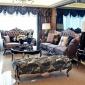 欧式沙发新古典实木奢华布艺沙发小户型单双三人沙发组合客厅整装